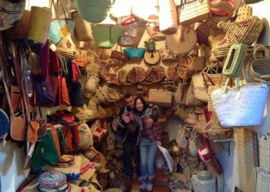 モロッコマラケシュのショッピング