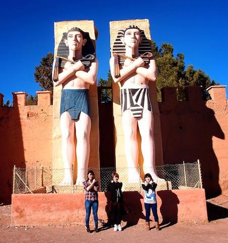 モロッコ、ワルザザードのシネマスタジオ