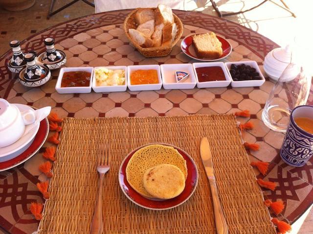 モロッコの朝ご飯