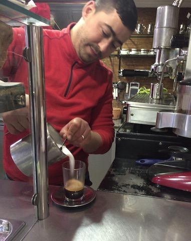 モロッコ、カフェ