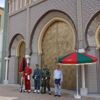 モロッコ、フェズの王宮