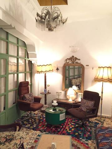 モロッコ、アシラーのリヤドdar tabia