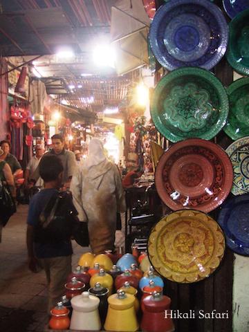 モロッコ、マラケシュのスーク