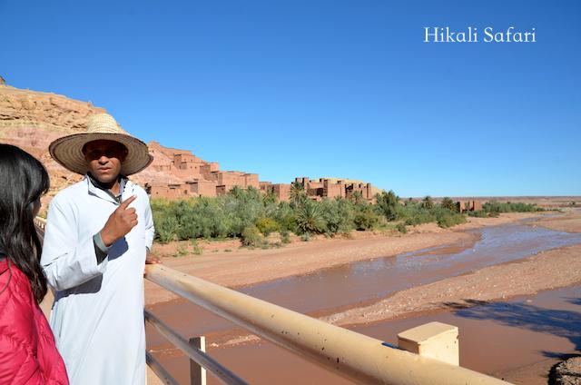 モロッコ、アイトベンハッドゥの川