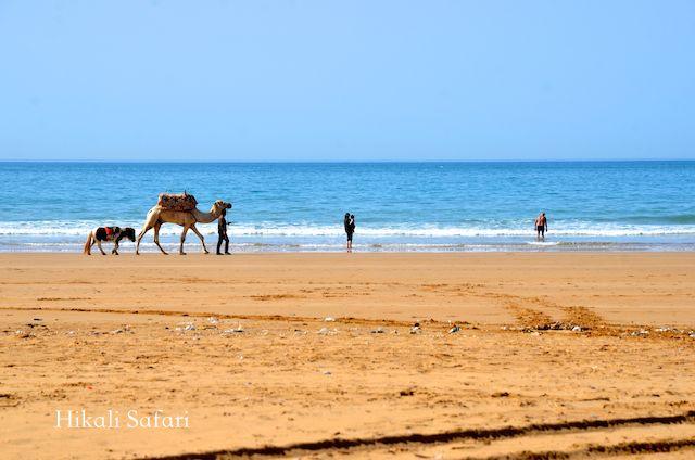 モロッコ、パラダイスビーチ