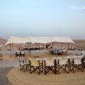 アガファイ砂漠で静寂と漆黒の一夜を過ごせるスカラベオ・キャンプ
