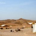 マラケシュから僅か30分のアガファイ砂漠でキャンプ泊