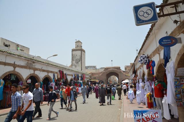 モロッコ、エッサウィラの旧市街