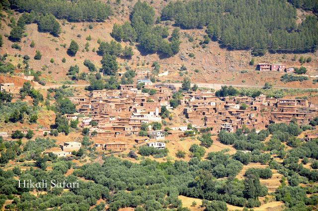 モロッコ、アトラス山脈超え
