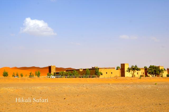 モロッコ、メルズーガのホテル