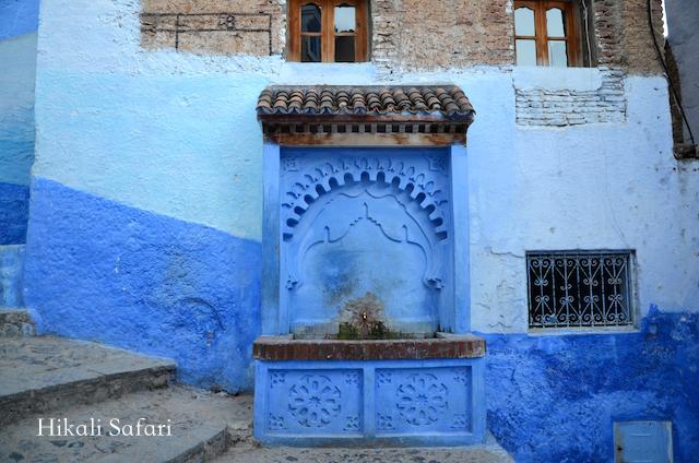 モロッコ、シャウエンの公共水汲み場