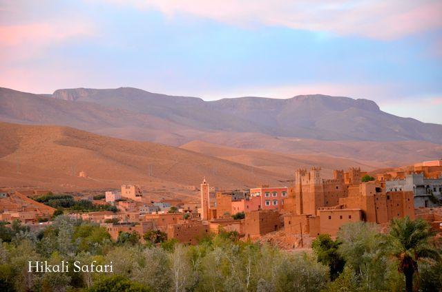 モロッコ、ダデス峡谷