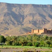 モロッコ、ドラア谷