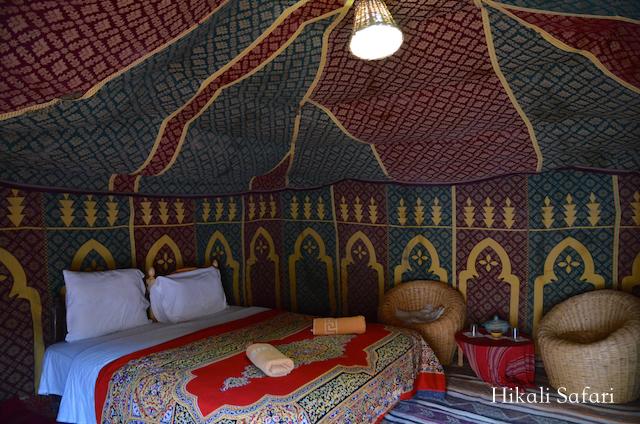 モロッコ、サハラ砂漠のラグジュアリーキャンプ