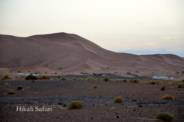 モロッコ、ラグジュアリーキャンプ