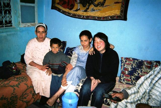 モロッコ、リッサニの家族