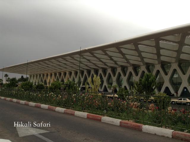 モロッコ、マラケシュメナラ空港