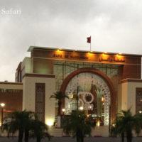 モロッコ、マラケシュ駅外観