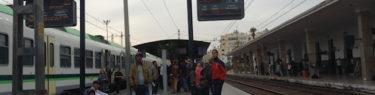 モロッコ、カサヴォヤージャー駅