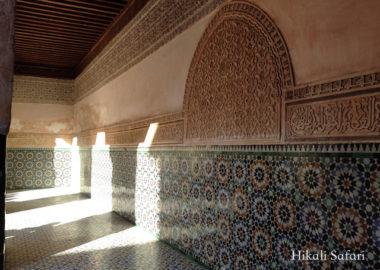 モロッコ、マラケシュのベン・ユーセフ・マドラサ