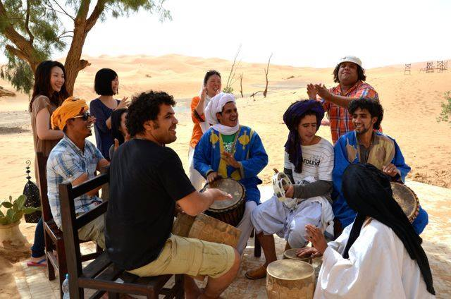 モロッコサハラ砂漠