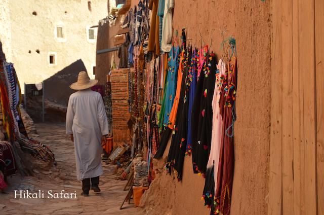 モロッコ、アイトベンハッドゥの集落