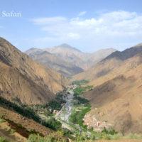 モロッコ、ウリカ渓谷