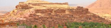 モロッコ、世界遺産のアイトベンハッドゥ