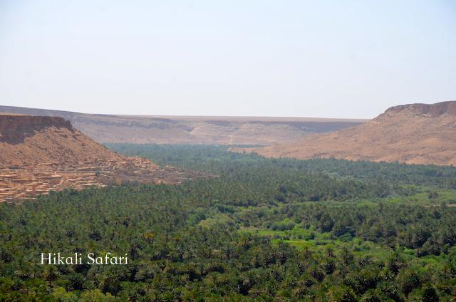 モロッコ、ズィズ谷